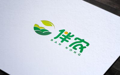 伴农 农产品线上商城 标志设计
