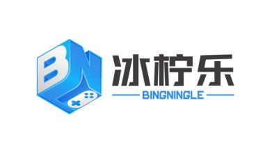 冰柠乐游戏发行公司LOGO设计