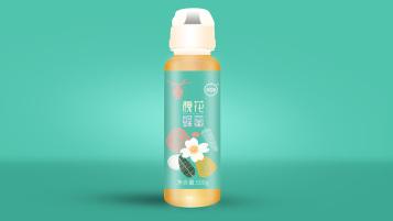 沈农宝蜂蜜品牌包装设计