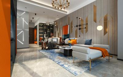 水晶酈城住宅空間設計
