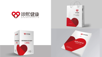 珍熙健康品牌VI設計