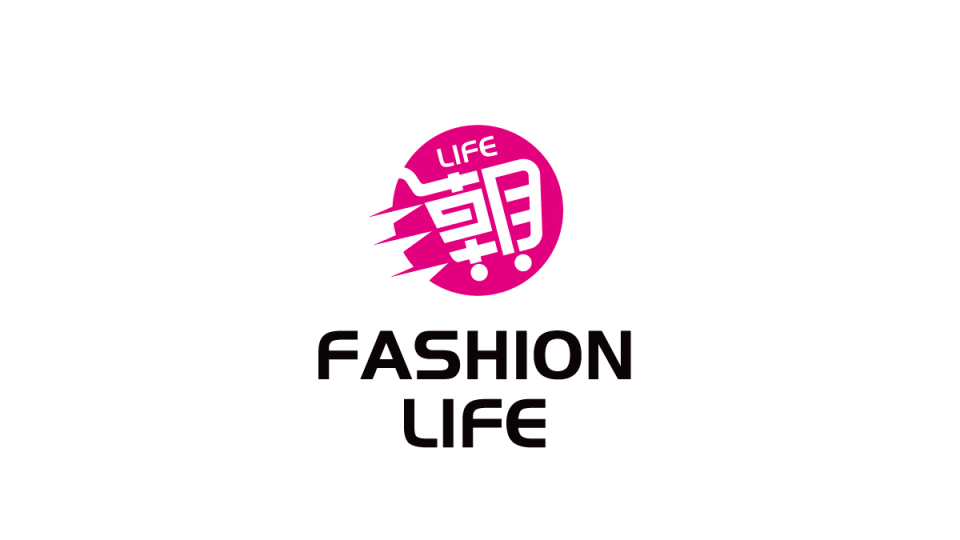 潮LIFE文化传媒公司LOGO设计