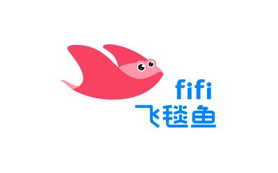 fifi飞毯鱼少儿视频平台logo&i...