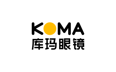 库玛眼镜logo&VI设计