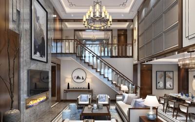 上海中式风格别墅设计