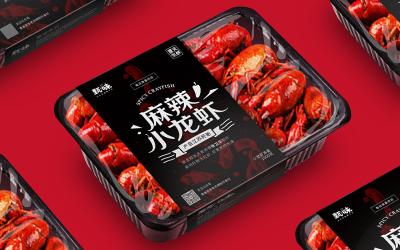 夏天生鮮|小龍蝦包裝設計