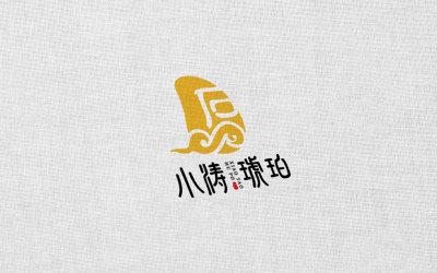 小涛琥珀品牌LOGO设计