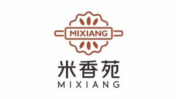米香苑新中式食品品牌LOGO設計