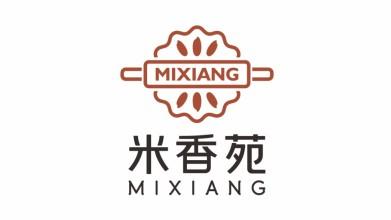米香苑新中式食品品牌LOGO设计