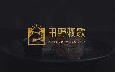田野牧歌-高端牛排品牌設計