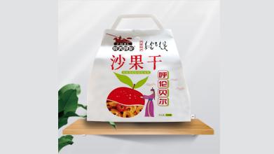 醉美呼倫零食蜜餞品牌包裝設計