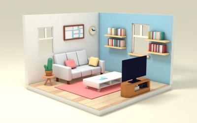 家具公司展示动画