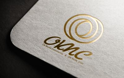 oknc區塊鏈社區logo設計