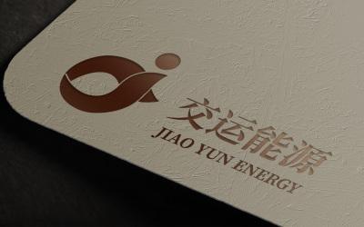 能源品牌logo設計-交運能源