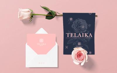 TELAIKA花店品牌设计