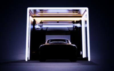 叭八智能洗车机产品外观设计