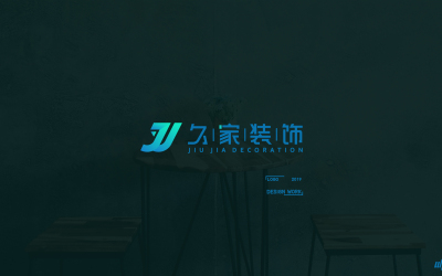 久家装饰品牌LOGO、VI乐天堂fun88备用网站