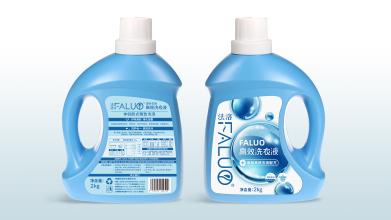 法洛高效洗衣液包裝設計