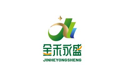 金禾永盛超市logo设计/粮油...