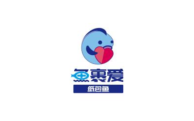 鱼裹爱纸包鱼logo乐天堂fun88备用网站/餐饮...