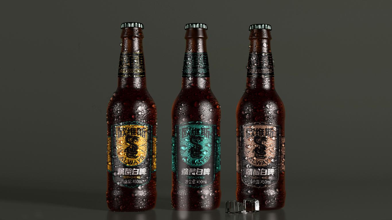 欧维斯小众精酿啤酒包装设计中标图3