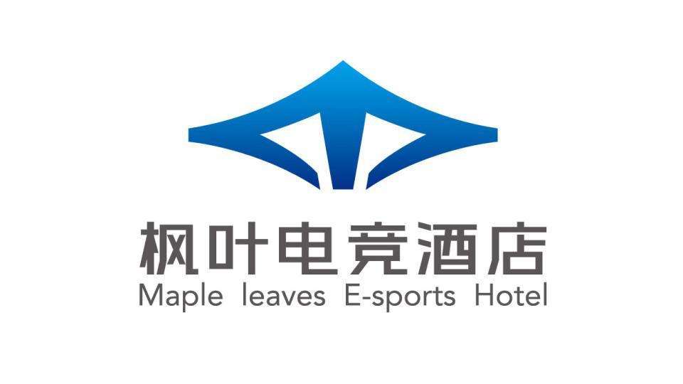 枫叶电竞酒店LOGO设计