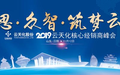 2019年云南云天化日照營銷峰...