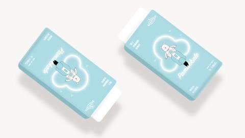 BEAR TEDI纸尿裤包装设计