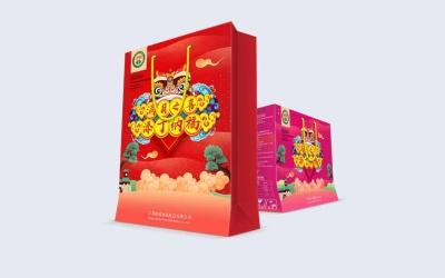 滿月禮盒包裝設計
