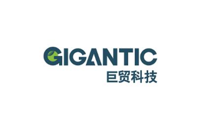 巨贸科技+科技+logo