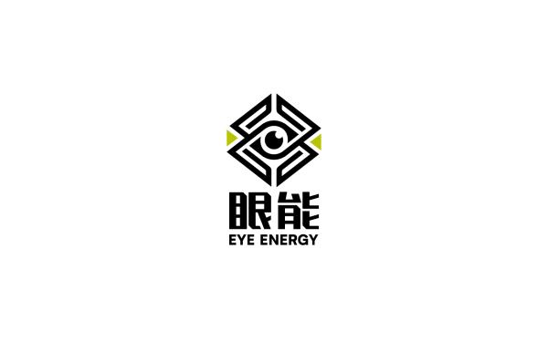 眼能饮料品牌logo设计