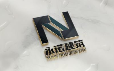 永诺建筑logo