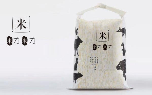 米力米力大米logo设计