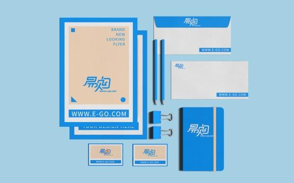 易购电子商务平台logo设计