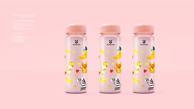 鑫月塘水杯品牌包裝設計