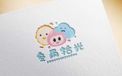 甜品品牌卡通形象设计|logo设计