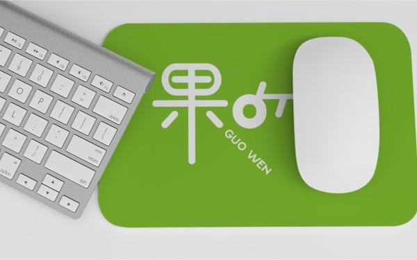 果吻果蔬凈logo設計