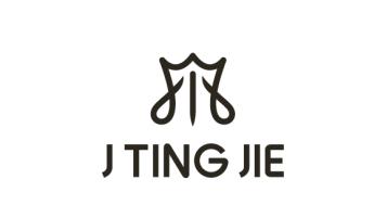 J  TING JIE高端服装定制品牌LOGO设计