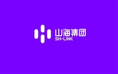 山海集團logo設計