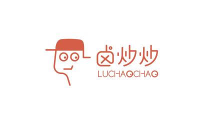 鹵炒炒餐飲品牌logo設計