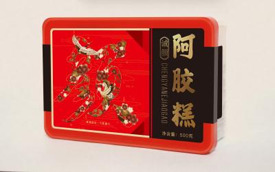 誠顏品牌阿膠糕包裝設計
