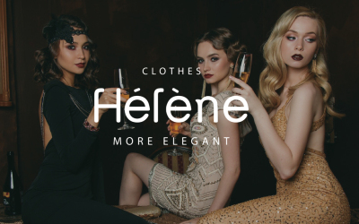 Helene-獨立服裝品牌設計