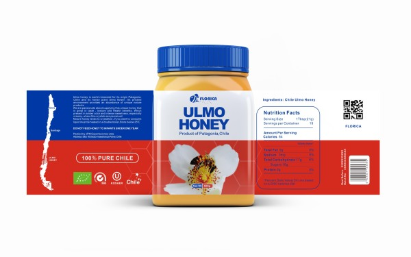 智利蜂蜜品牌包装设计