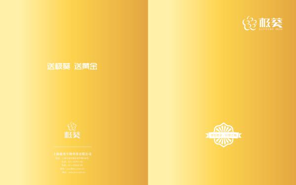 极葵保健品画册设计