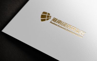 淮南经济开发区标志设计