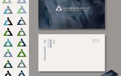 绿建新材料logo