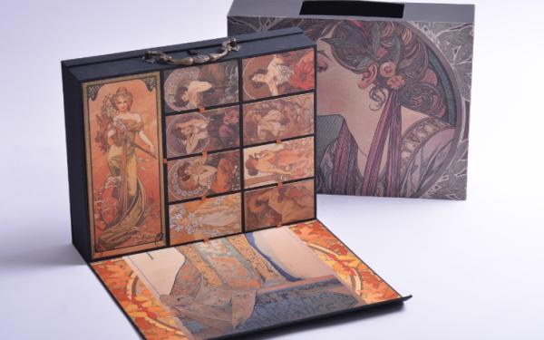 Midas穆夏系列化妆盒包装设计