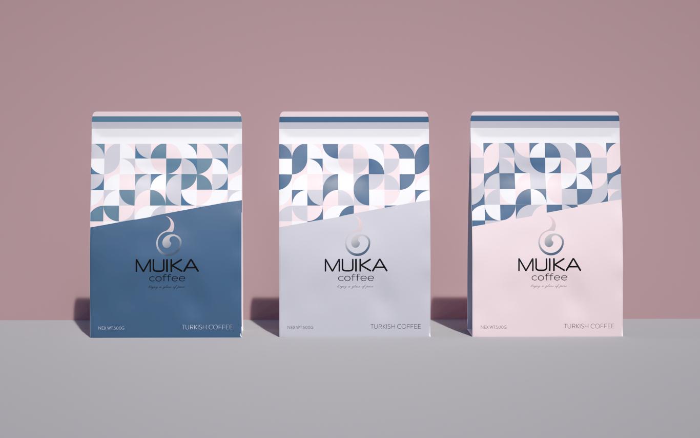 MUIKA咖啡品牌设计图4
