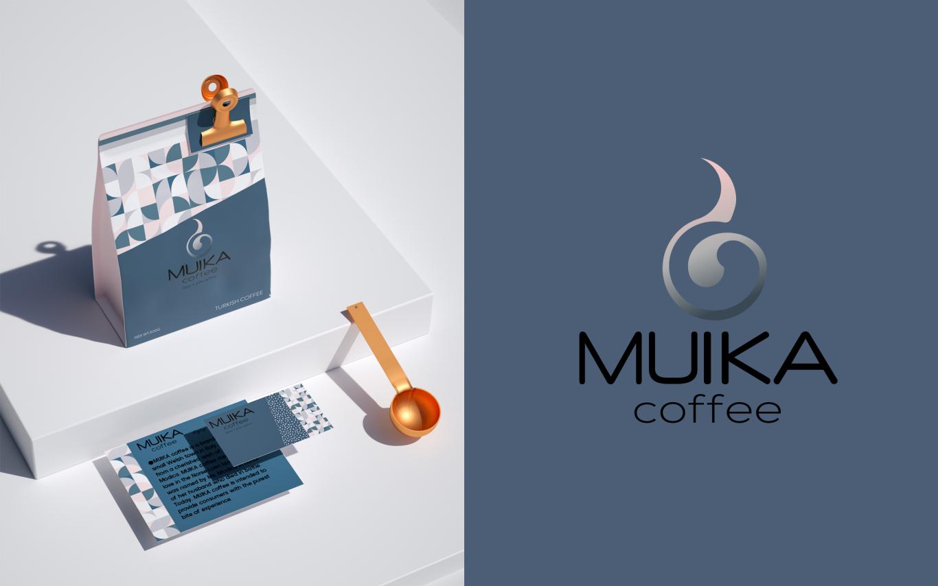 MUIKA咖啡品牌设计图2