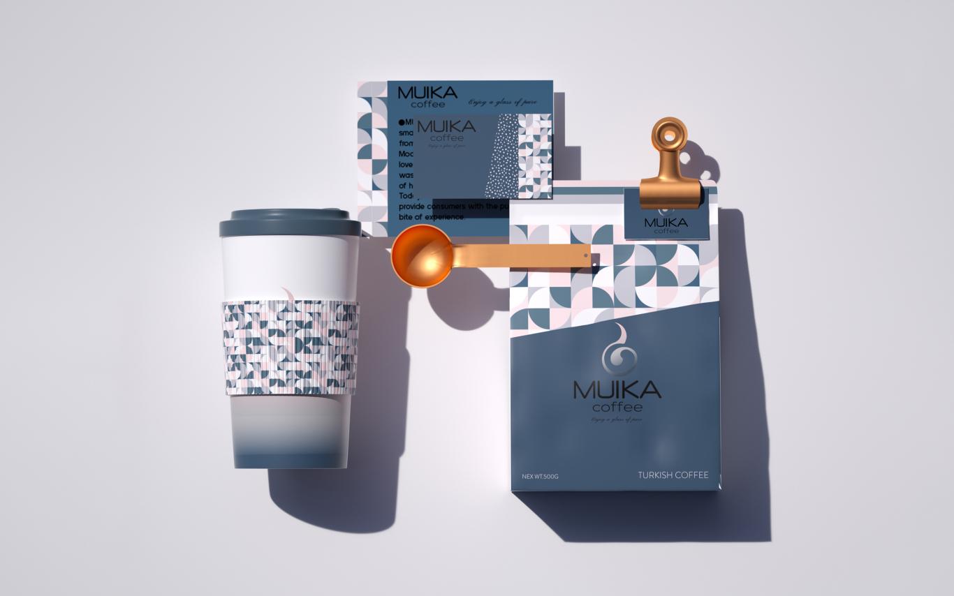 MUIKA咖啡品牌设计图1
